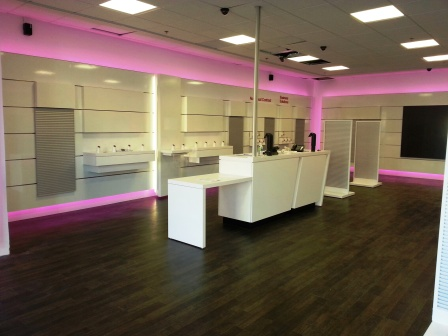 Commercial Decor Group » T Mobile